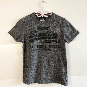 Vintage SuperDry Grey T-Shirt